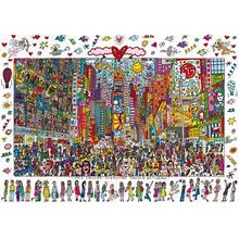 Ravensburger 1000 Parça James Rizzi New York Times Square