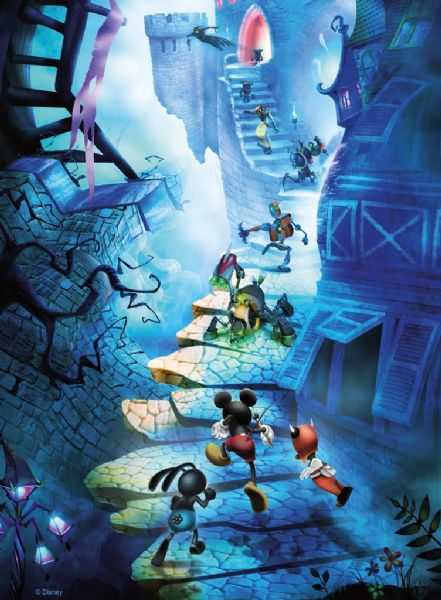 Ravensburger Puzzle Walk Disney Epic Mickey Mouse 500 lük