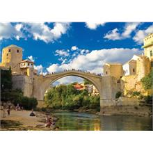 KS Games Old Mostar Bridge Bosna Hersek 500 Parça Puzzle