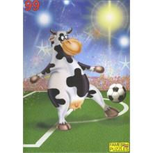 Fame 99 Parça Puzzle Playing Football