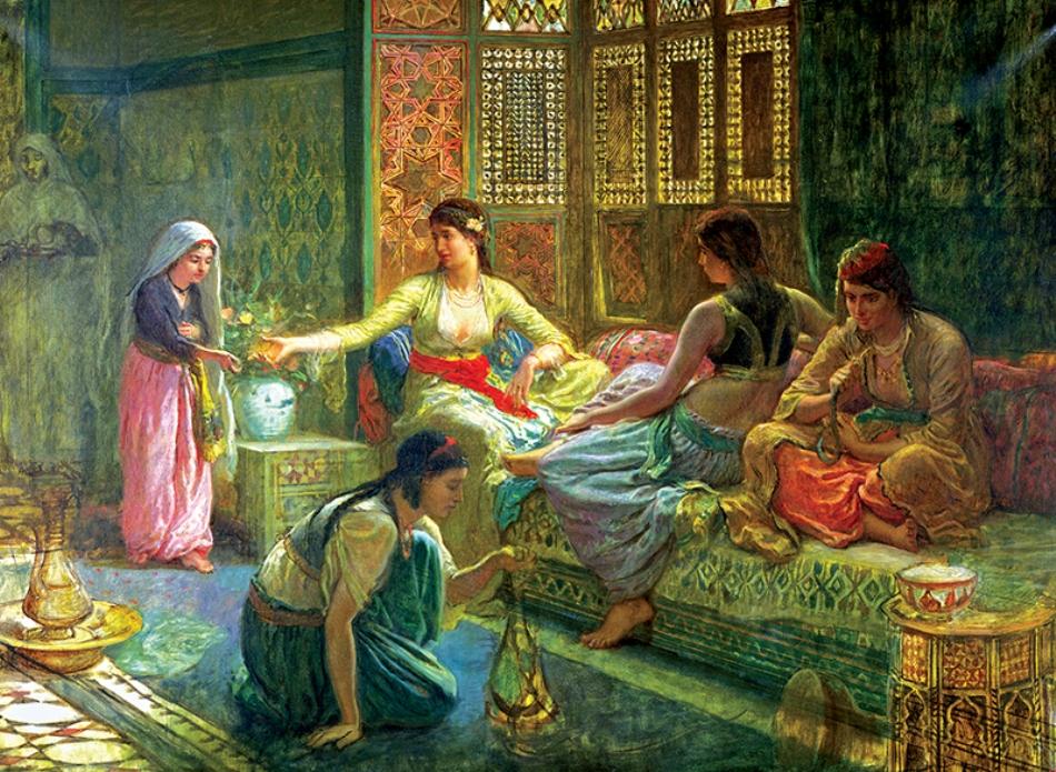 El imperio Otomano su decadencia Harem-de-yasam-anatolian