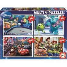 Educa 50 - 80 - 100 - 150 Parça Disney Pixar Nemo Monsters Cars Toy Story