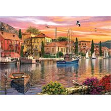 Ks Games 2000 Parça Harbour Sunset Puzzle