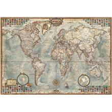 Educa 1500 Parça Political Map of the World Harita Puzzle