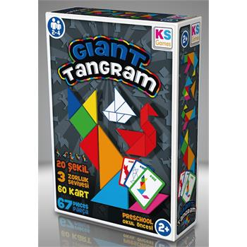 KS Games Giant Tangram Oyunu
