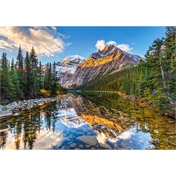 Castorland 500 Parça Puzzle - Morning Sunlight in the Rockies