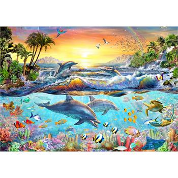 Ks Games 200 Parça Tropical Bay Puzzle