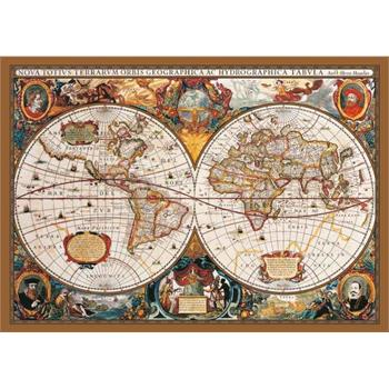 Ks Games 2000 Parça Puzzle 17th Centruy World Map